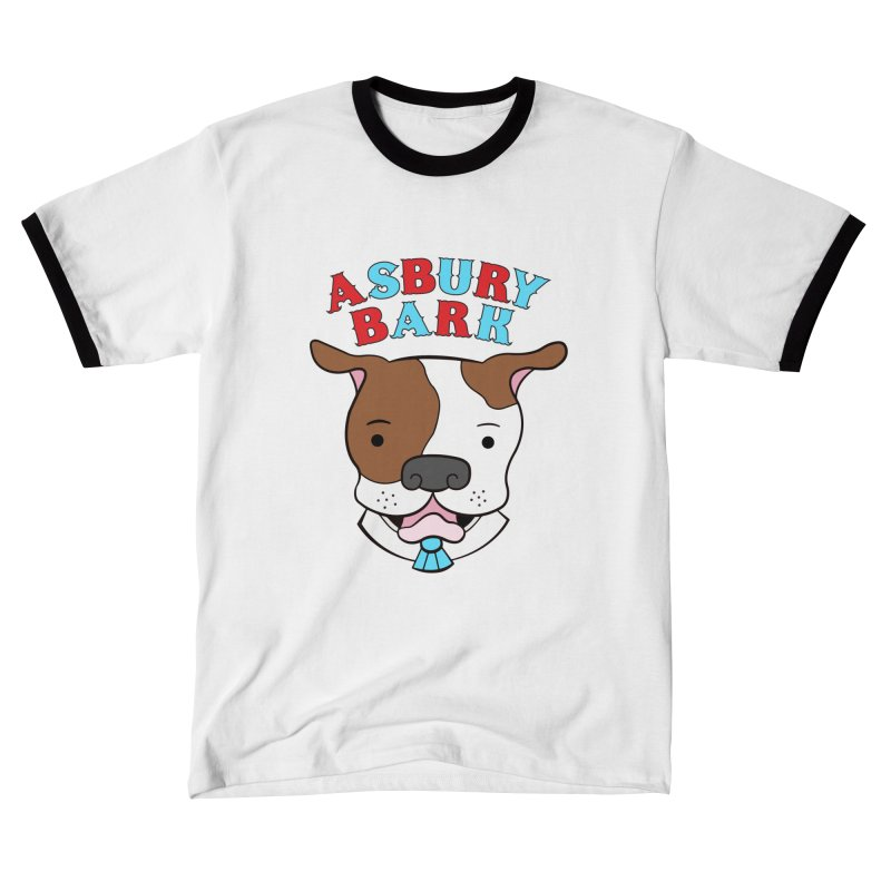 Asbury Bark Men's T-Shirt by Pigdog