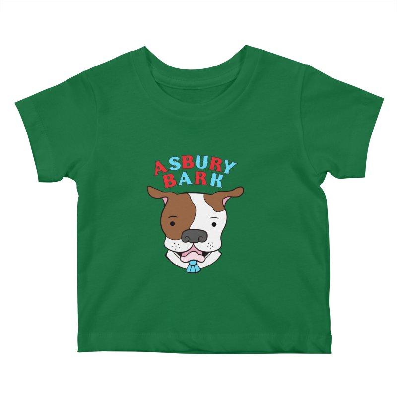 Asbury Bark Kids Baby T-Shirt by Pigdog