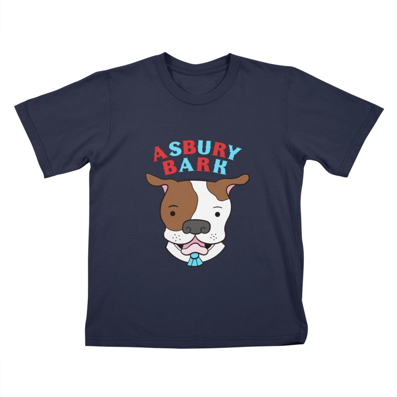 Asbury Bark Kids T-Shirt by Pigdog