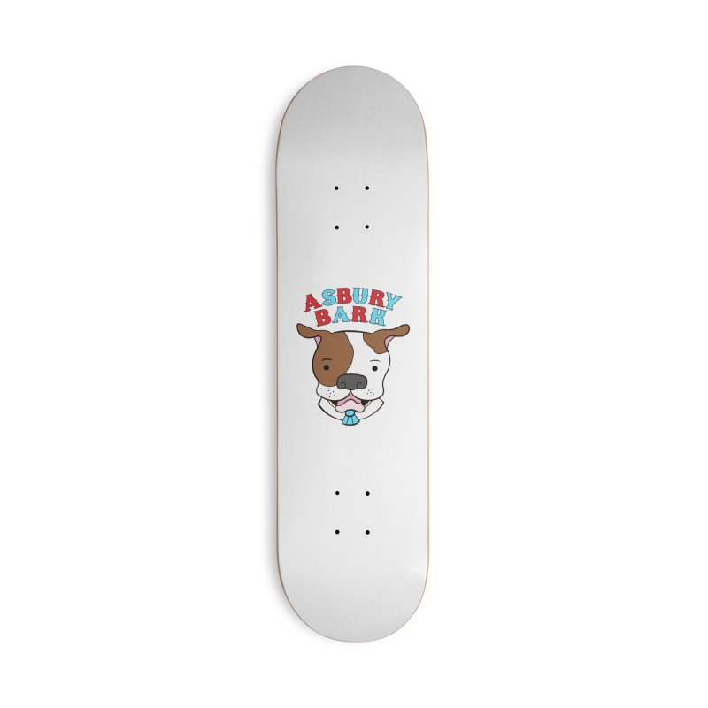 Asbury Bark Accessories Skateboard by Pigdog