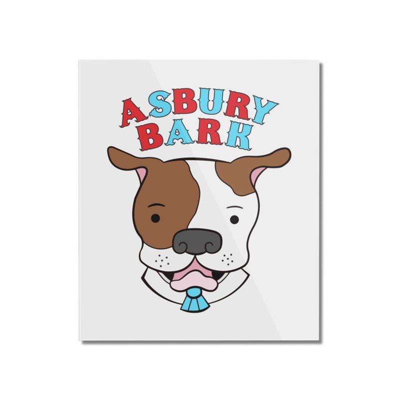Asbury Bark Home Mounted Acrylic Print by Pigdog