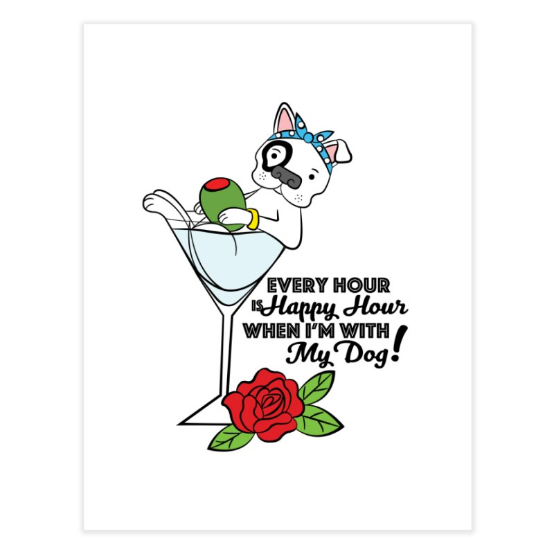 Dirty Muttini Home Fine Art Print by Pigdog