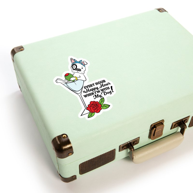 Dirty Muttini Accessories Sticker by Pigdog