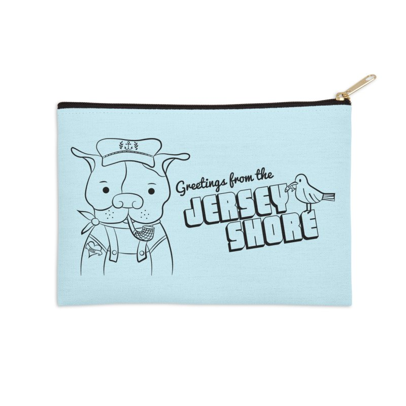 Greetings From... Accessories Zip Pouch by Pigdog