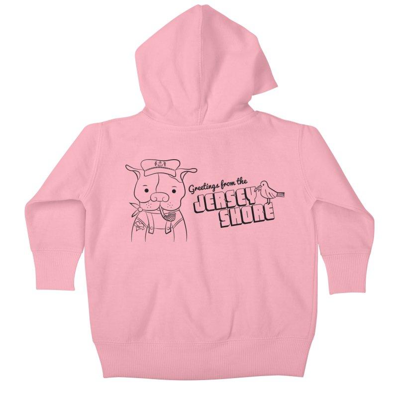 Greetings From... Kids Baby Zip-Up Hoody by Pigdog