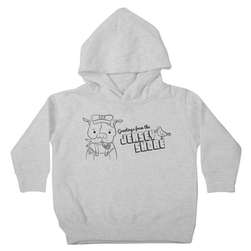 Greetings From... Kids Toddler Pullover Hoody by Pigdog