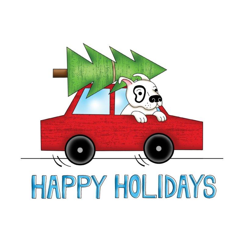 Holiday Car Rides Accessories Greeting Card by Pigdog