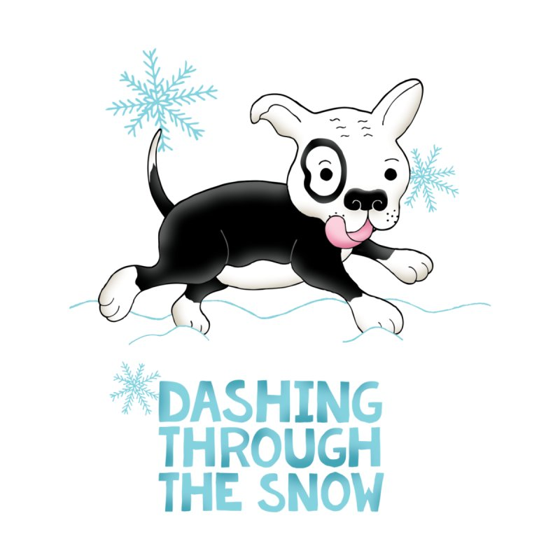 Dashing Through The Snow Men's Longsleeve T-Shirt by Pigdog