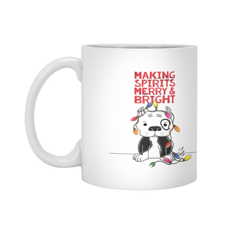 Merry And Bright Accessories Mug by Pigdog