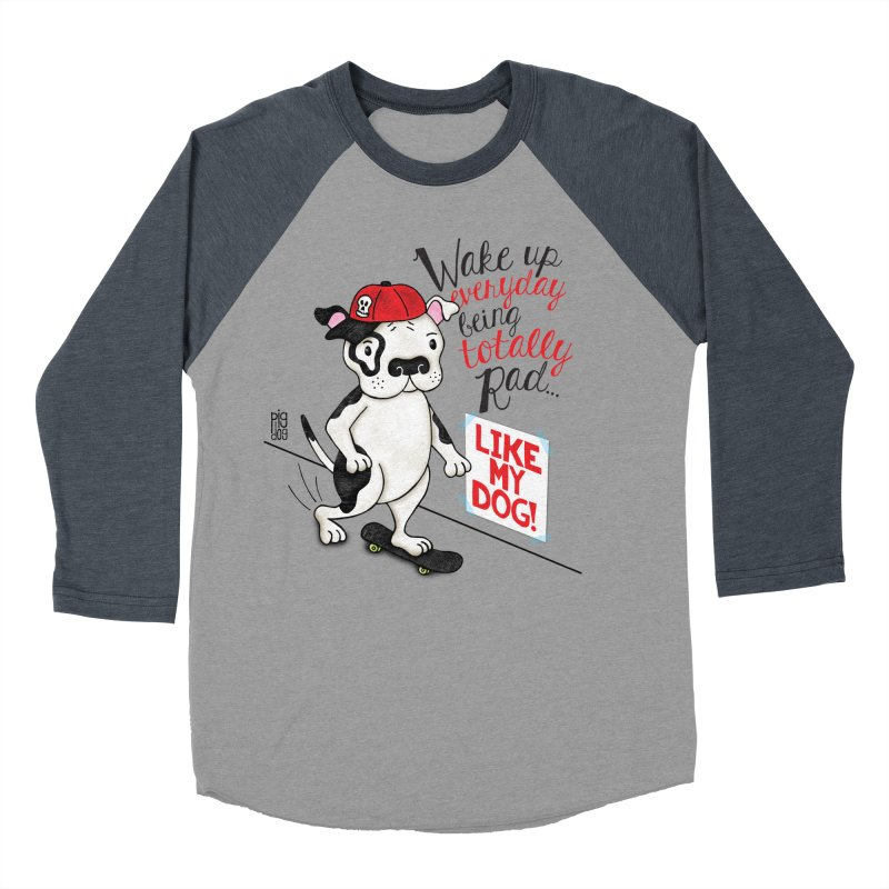 Totally Rad Women's Longsleeve T-Shirt by Pigdog