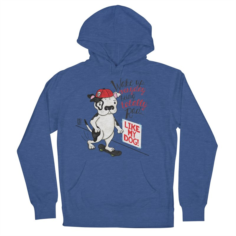 Totally Rad Men's Pullover Hoody by Pigdog