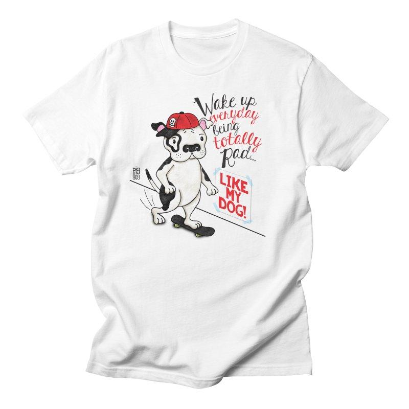 Totally Rad Men's T-Shirt by Pigdog