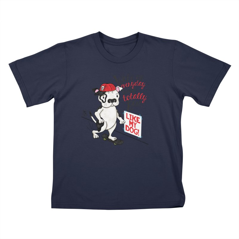 Totally Rad Kids T-Shirt by Pigdog