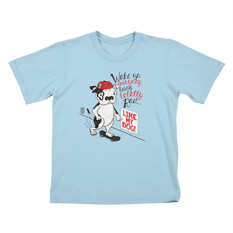 Totally Rad Kids T-Shirt by Pigdog