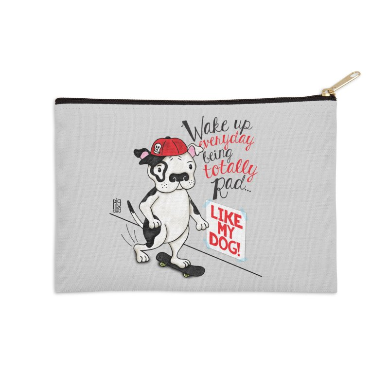 Totally Rad Accessories Zip Pouch by Pigdog
