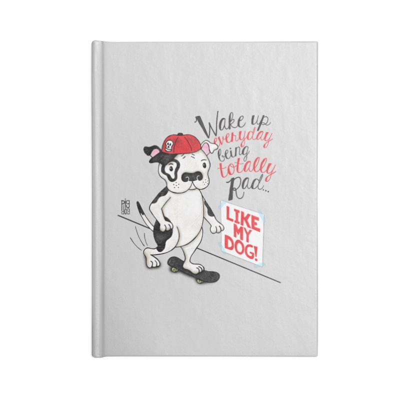 Totally Rad Accessories Lined Journal Notebook by Pigdog