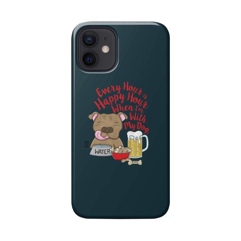 Happy Hour Accessories Phone Case by Pigdog