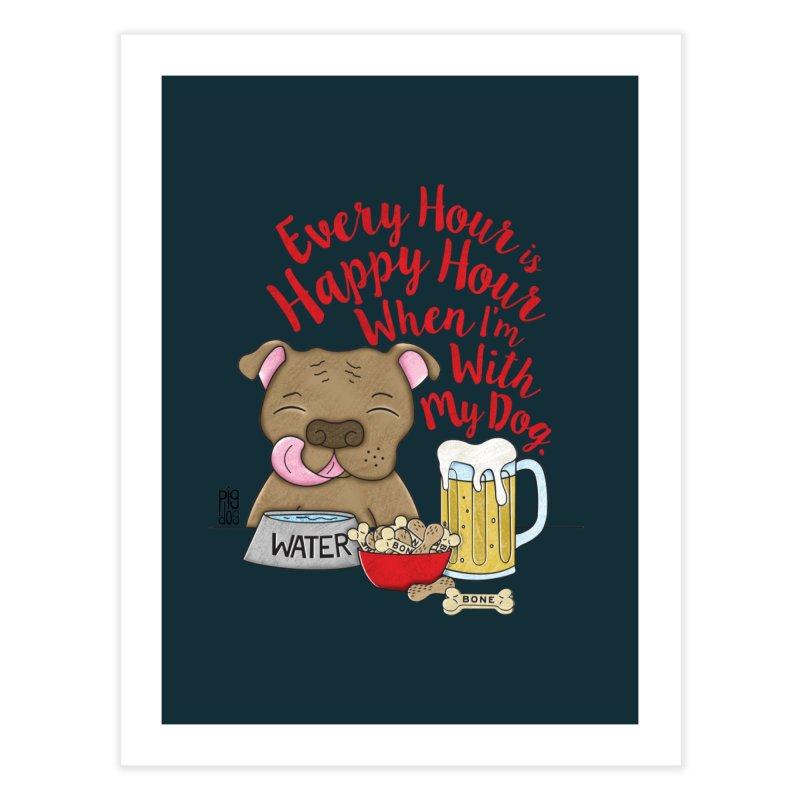 Happy Hour Home Fine Art Print by Pigdog