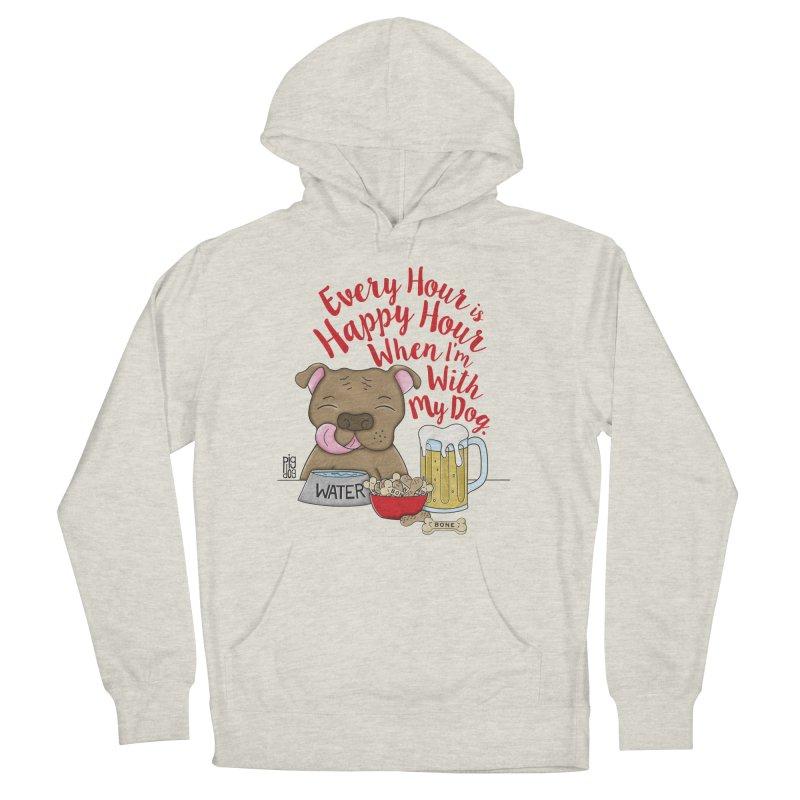 Happy Hour Women's Pullover Hoody by Pigdog