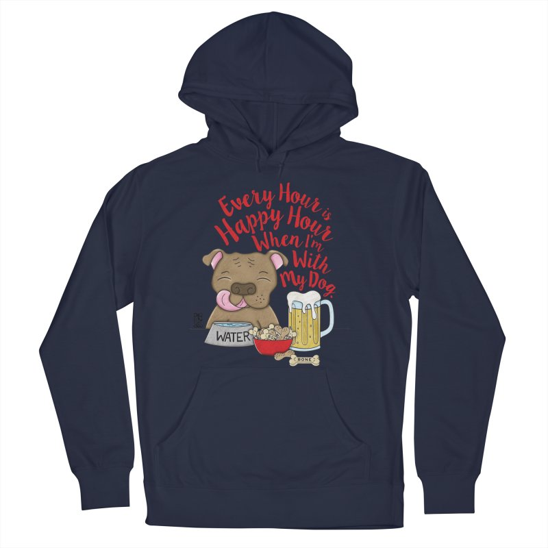 Happy Hour Men's Pullover Hoody by Pigdog