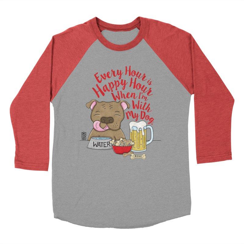 Happy Hour Men's Longsleeve T-Shirt by Pigdog