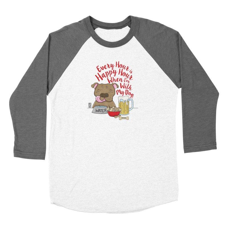 Happy Hour Women's Longsleeve T-Shirt by Pigdog