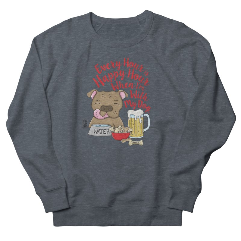 Happy Hour Women's Sweatshirt by Pigdog