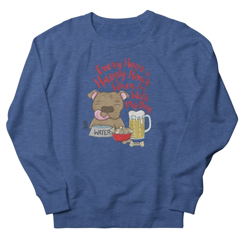 Happy Hour Men's Sweatshirt by Pigdog