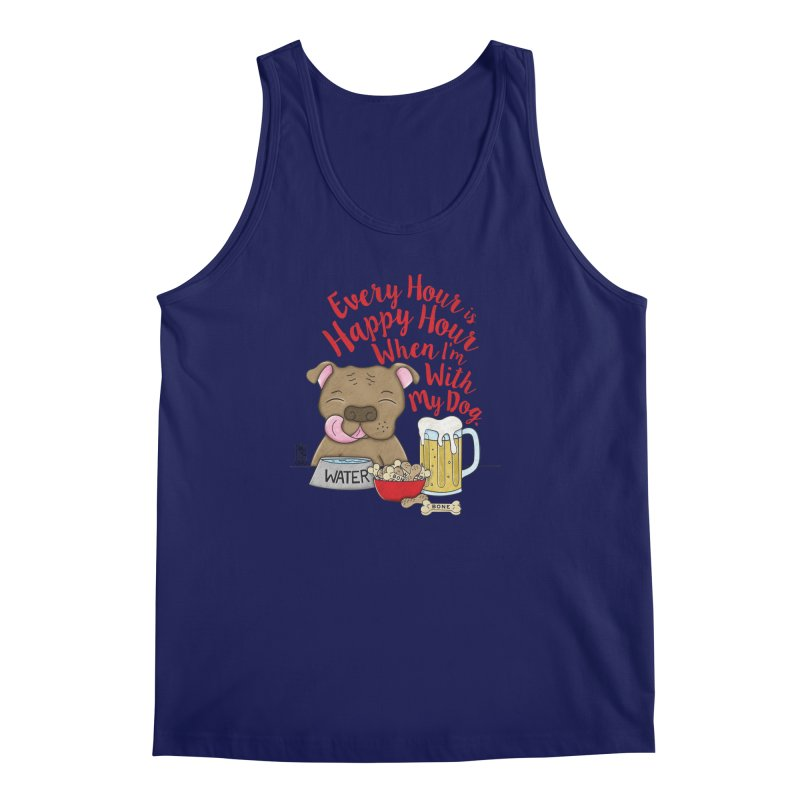 Happy Hour Men's Regular Tank by Pigdog