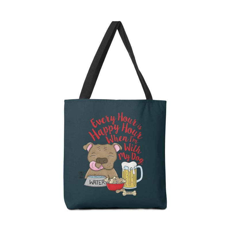 Happy Hour Accessories Tote Bag Bag by Pigdog
