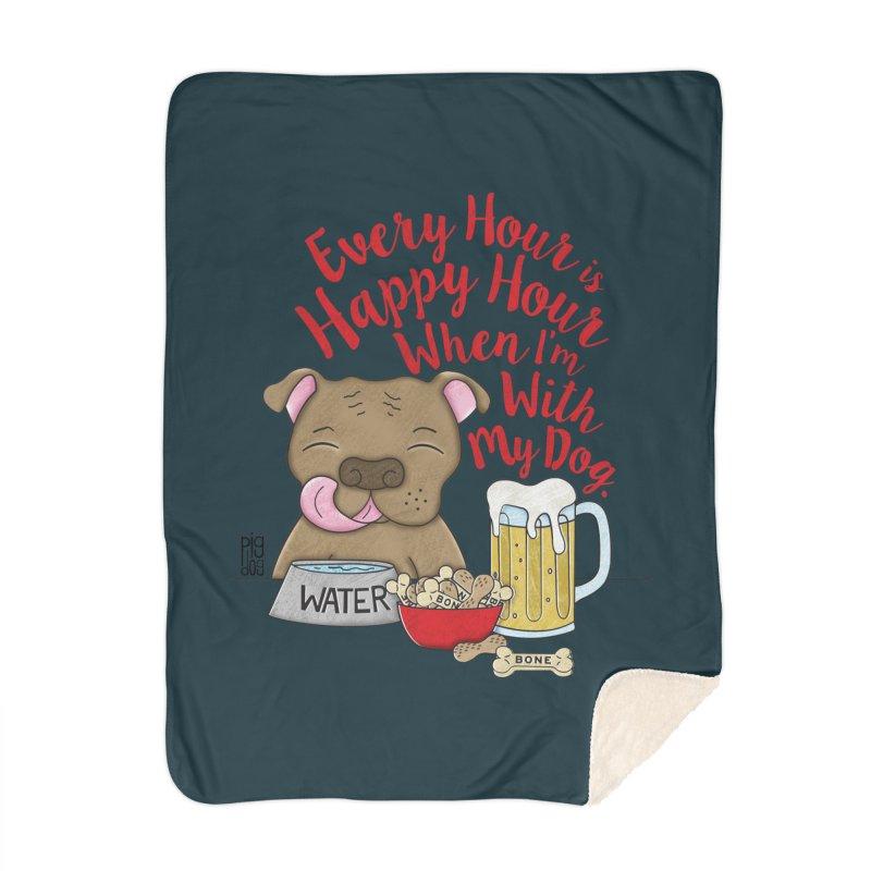 Happy Hour Home Blanket by Pigdog