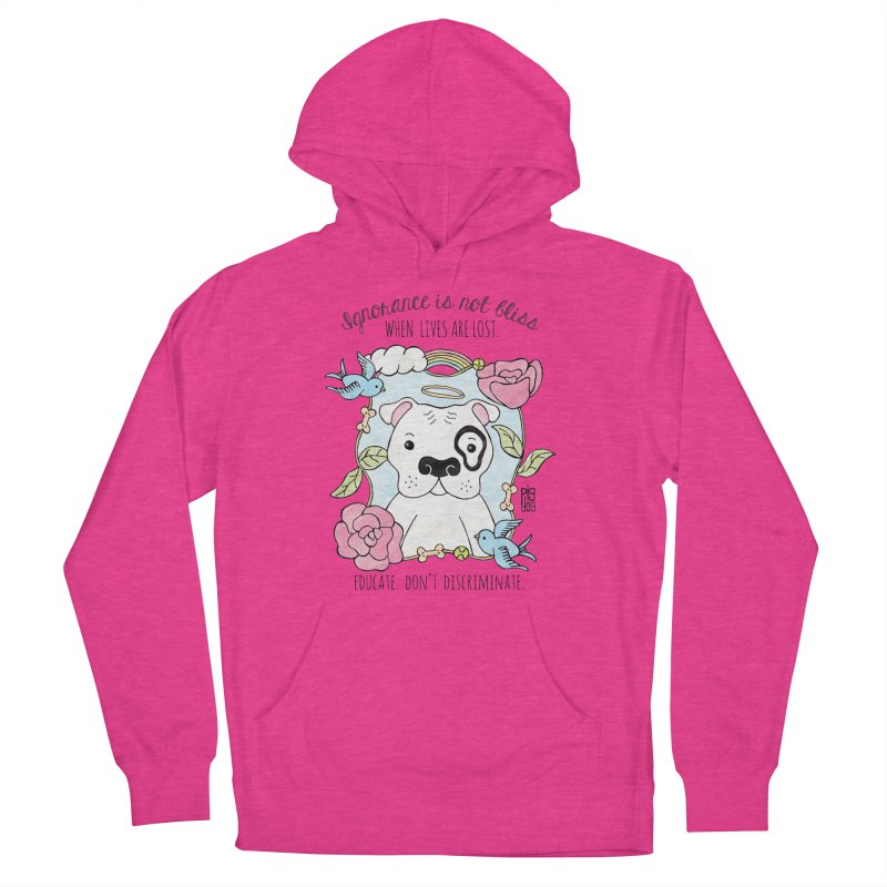 Ignorance Is Not Bliss Women's Pullover Hoody by Pigdog