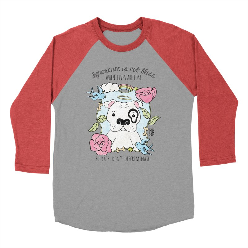 Ignorance Is Not Bliss Men's Longsleeve T-Shirt by Pigdog