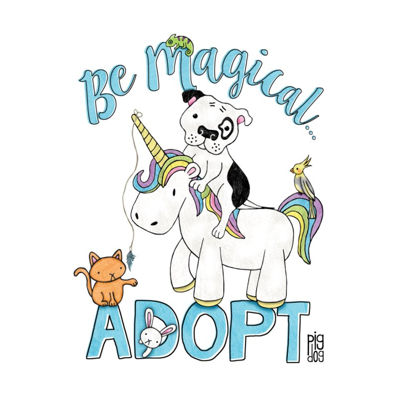 Be Magical Kids Baby T-Shirt by Pigdog