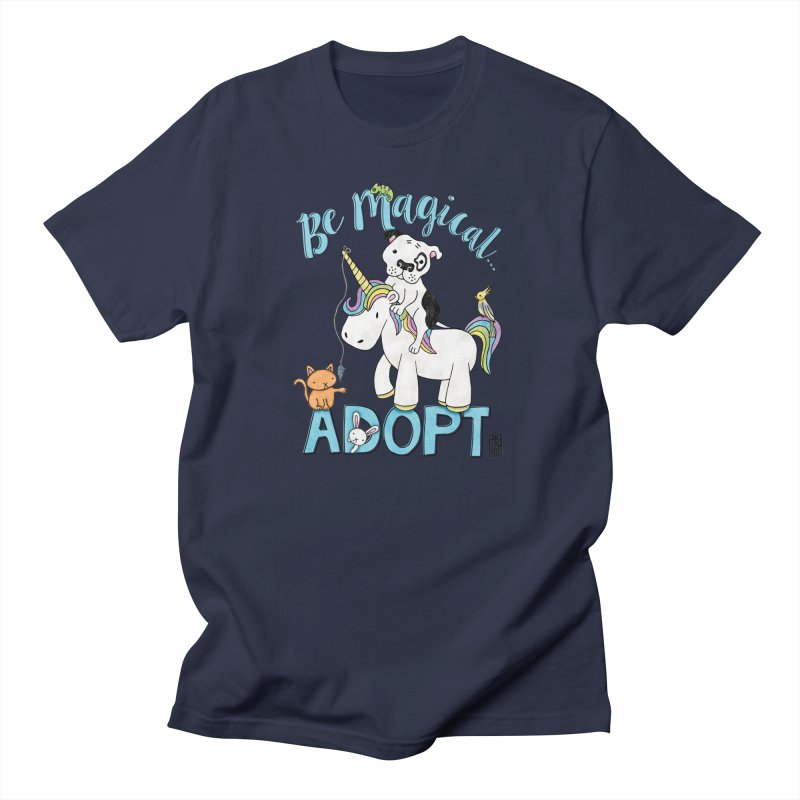 Be Magical Men's T-Shirt by Pigdog