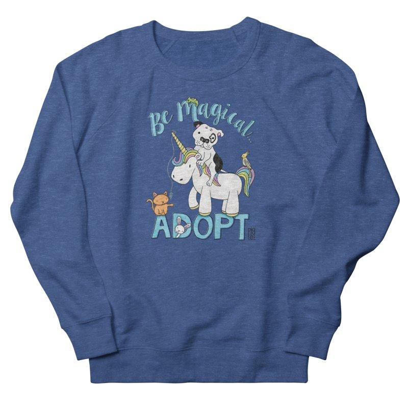 Be Magical Men's Sweatshirt by Pigdog