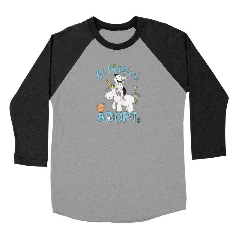 Be Magical Women's Baseball Triblend Longsleeve T-Shirt by Pigdog