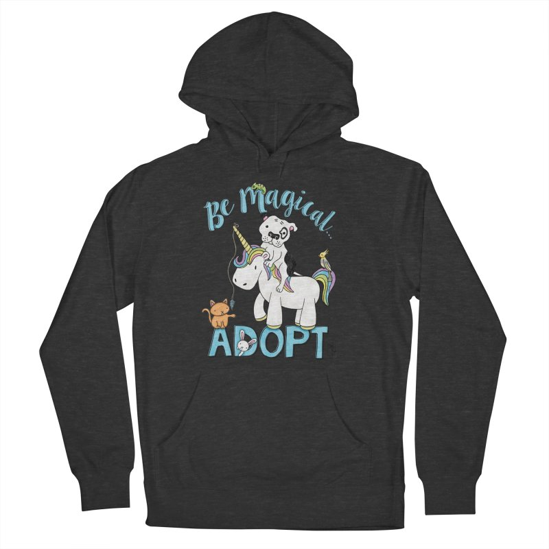 Be Magical Men's French Terry Pullover Hoody by Pigdog