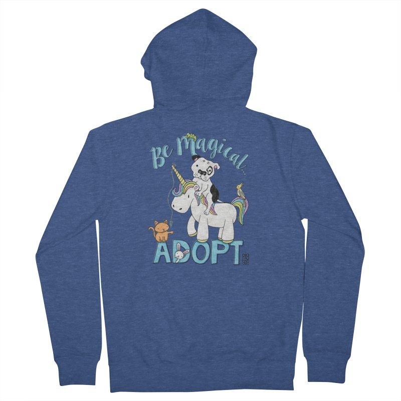 Be Magical Women's French Terry Zip-Up Hoody by Pigdog