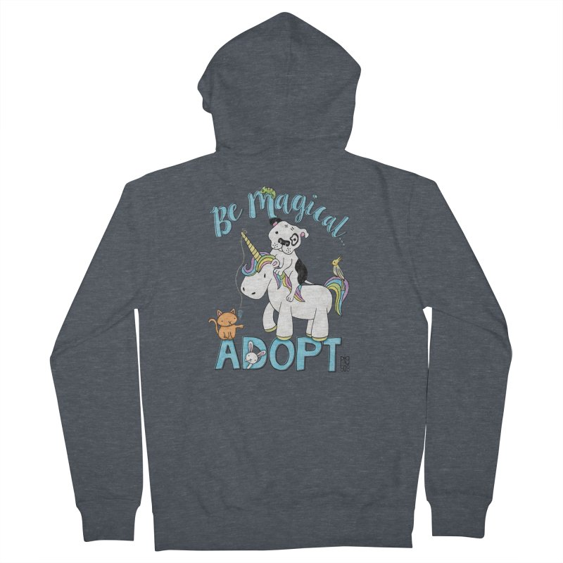 Be Magical Women's Zip-Up Hoody by Pigdog