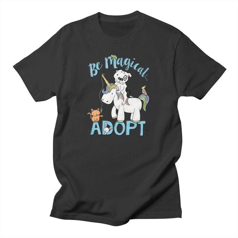 Be Magical Men's T-Shirt by Pigdog