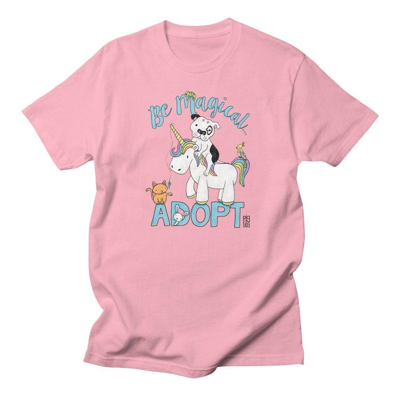 Be Magical Men's Regular T-Shirt by Pigdog