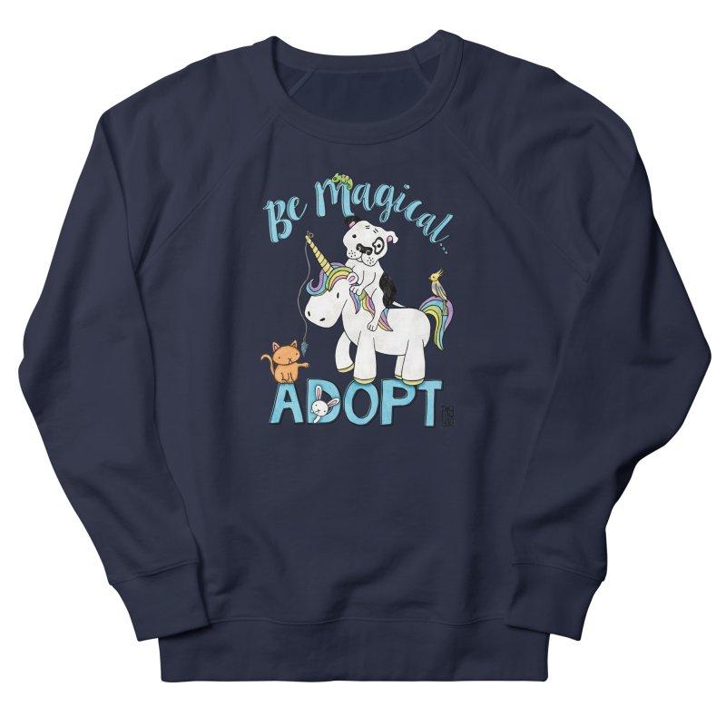 Be Magical Women's French Terry Sweatshirt by Pigdog