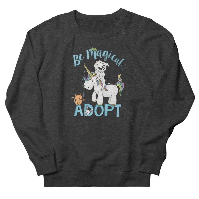 Be Magical Men's French Terry Sweatshirt by Pigdog