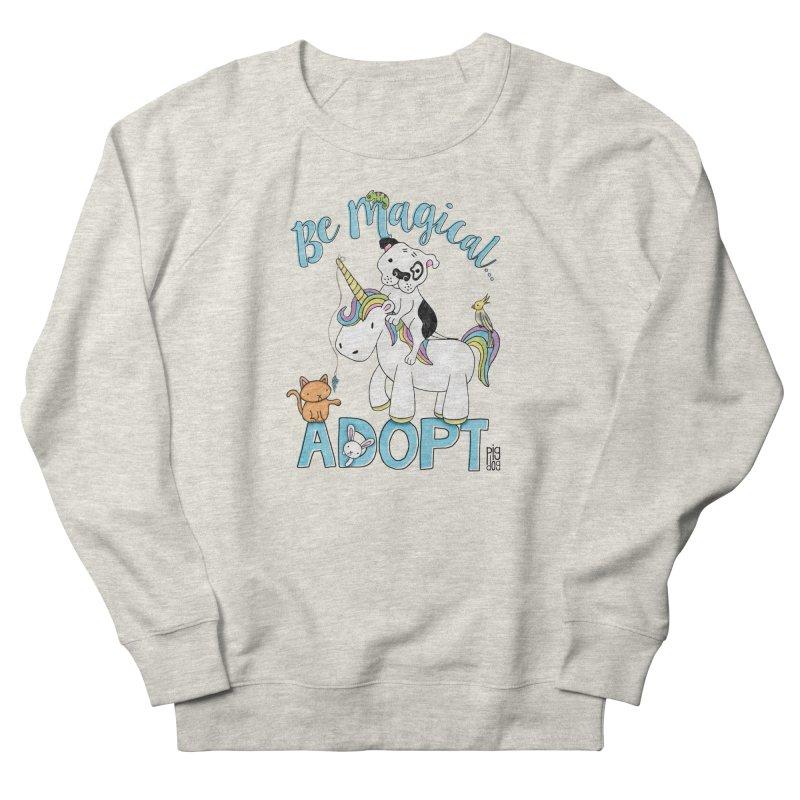 Be Magical Men's French Terry Sweatshirt by Pigdog