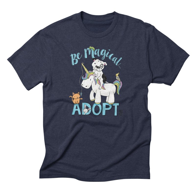 Be Magical Men's Triblend T-Shirt by Pigdog