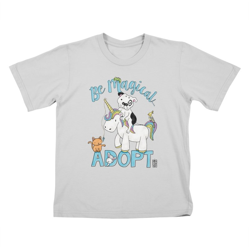 Be Magical Kids T-Shirt by Pigdog