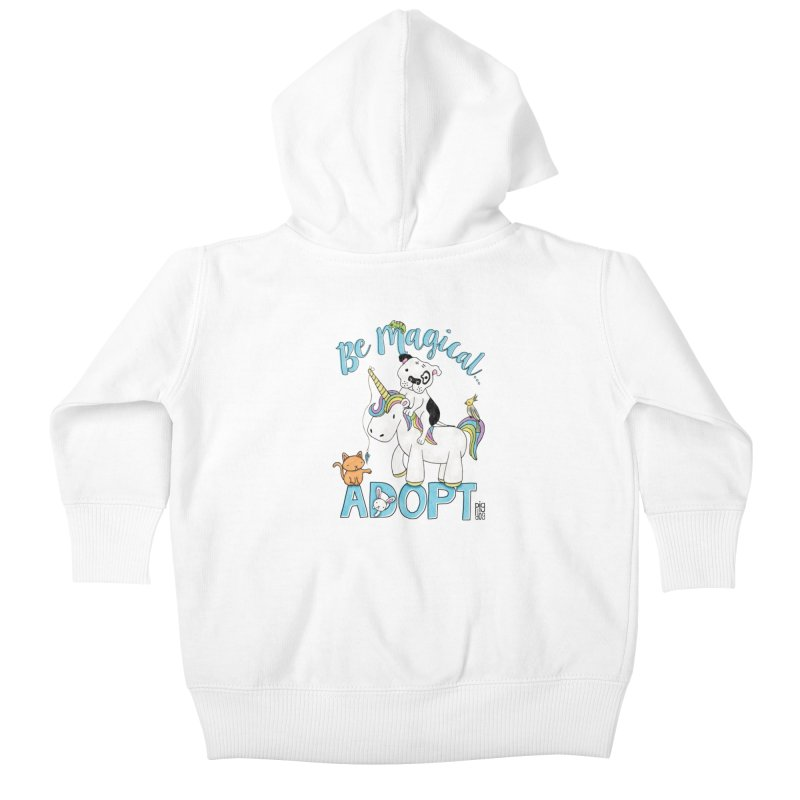 Be Magical Kids Baby Zip-Up Hoody by Pigdog