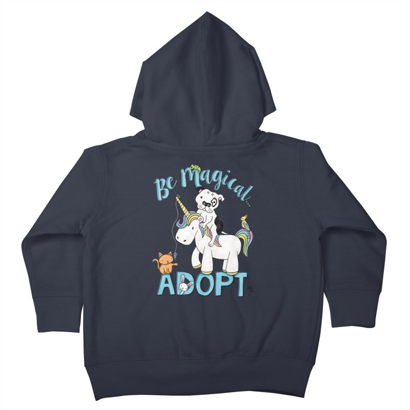 Be Magical Kids Toddler Zip-Up Hoody by Pigdog