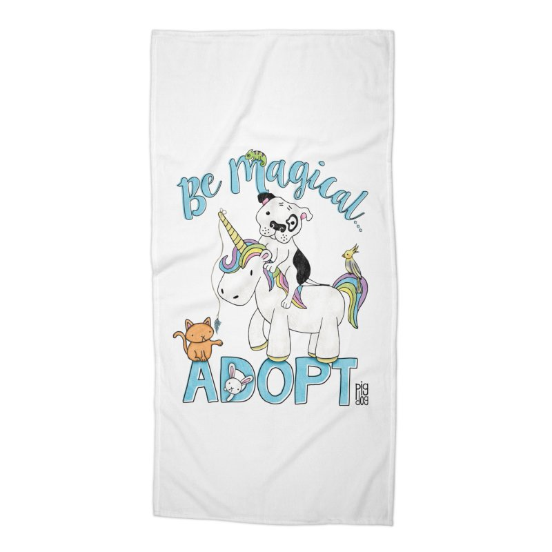 Be Magical Accessories Beach Towel by Pigdog